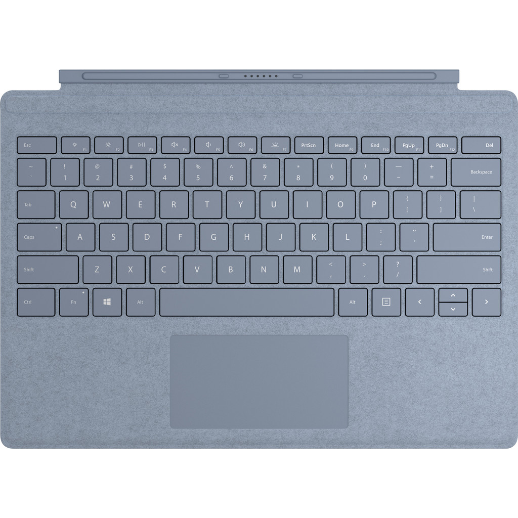 Microsoft Surface Cover Blauw Azerty