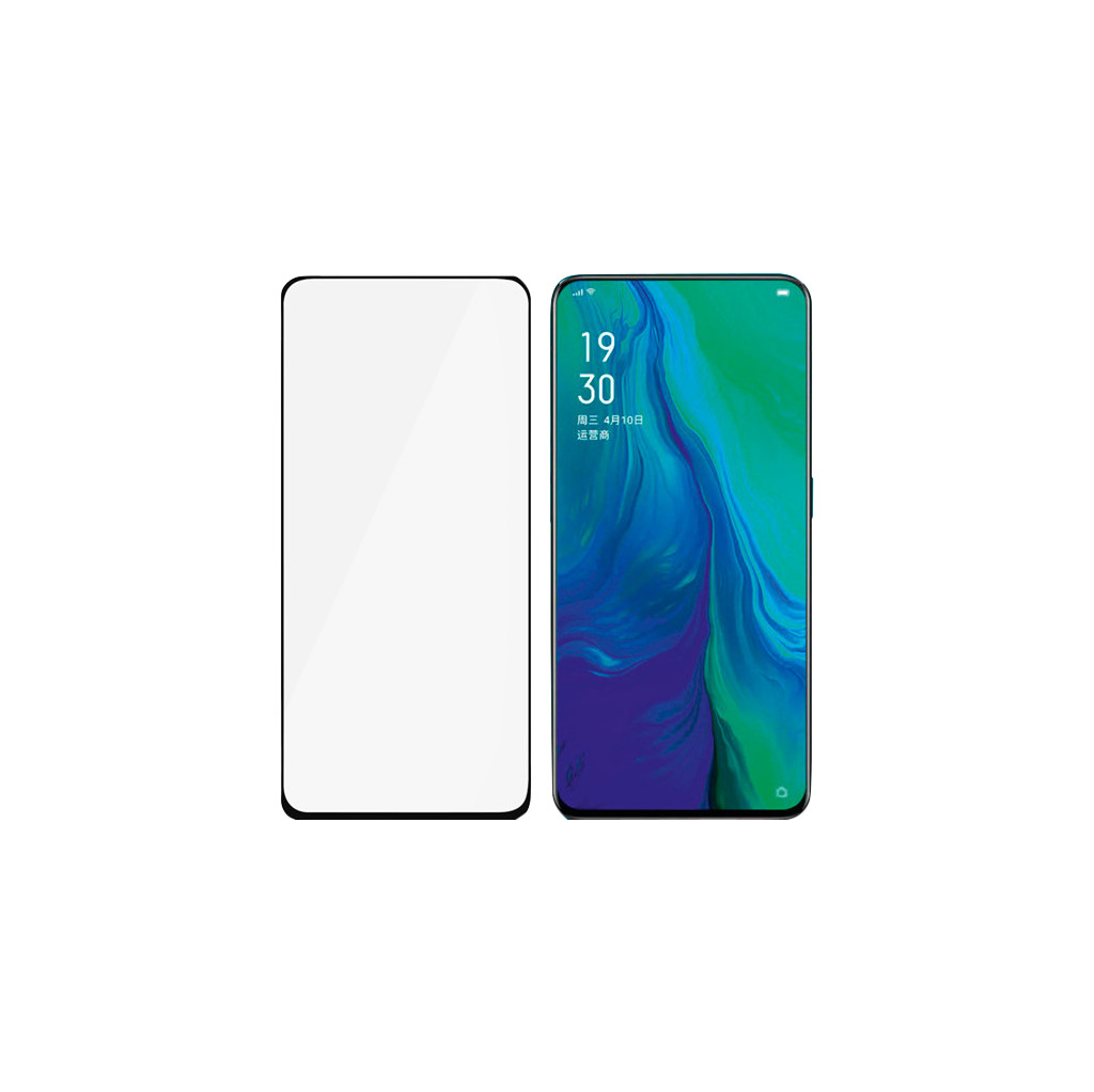 PanzerGlass Case Friendly OPPO Reno 10x Zoom Screenprotector Glas Zwart
