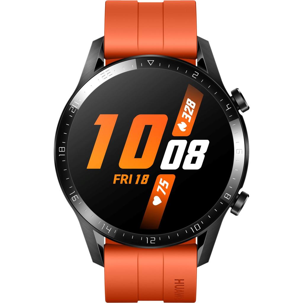 Huawei Watch GT 2 Zwart/Oranje 46mm