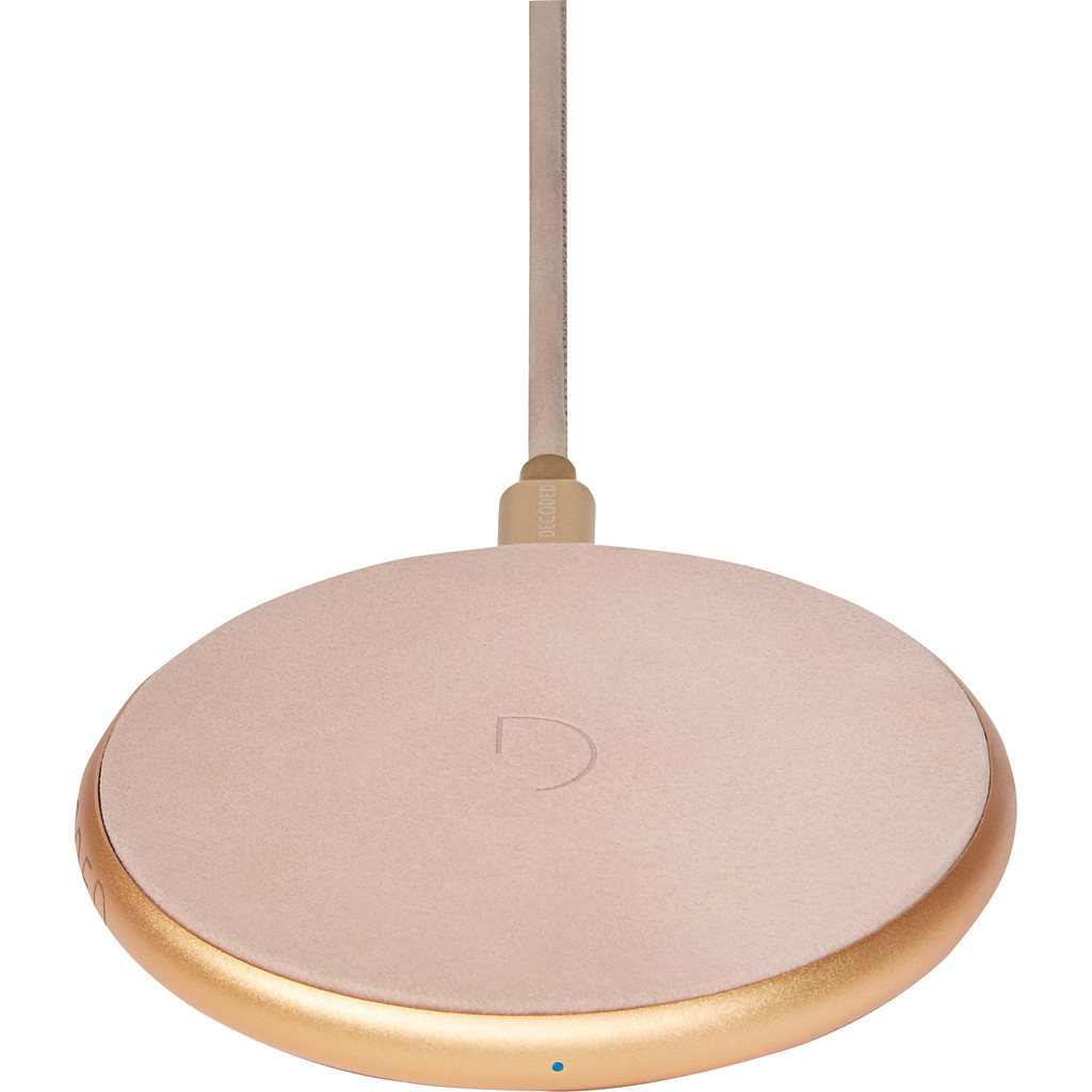 Decoded Fast Pad Draadloze Oplader 10W Rosé Goud