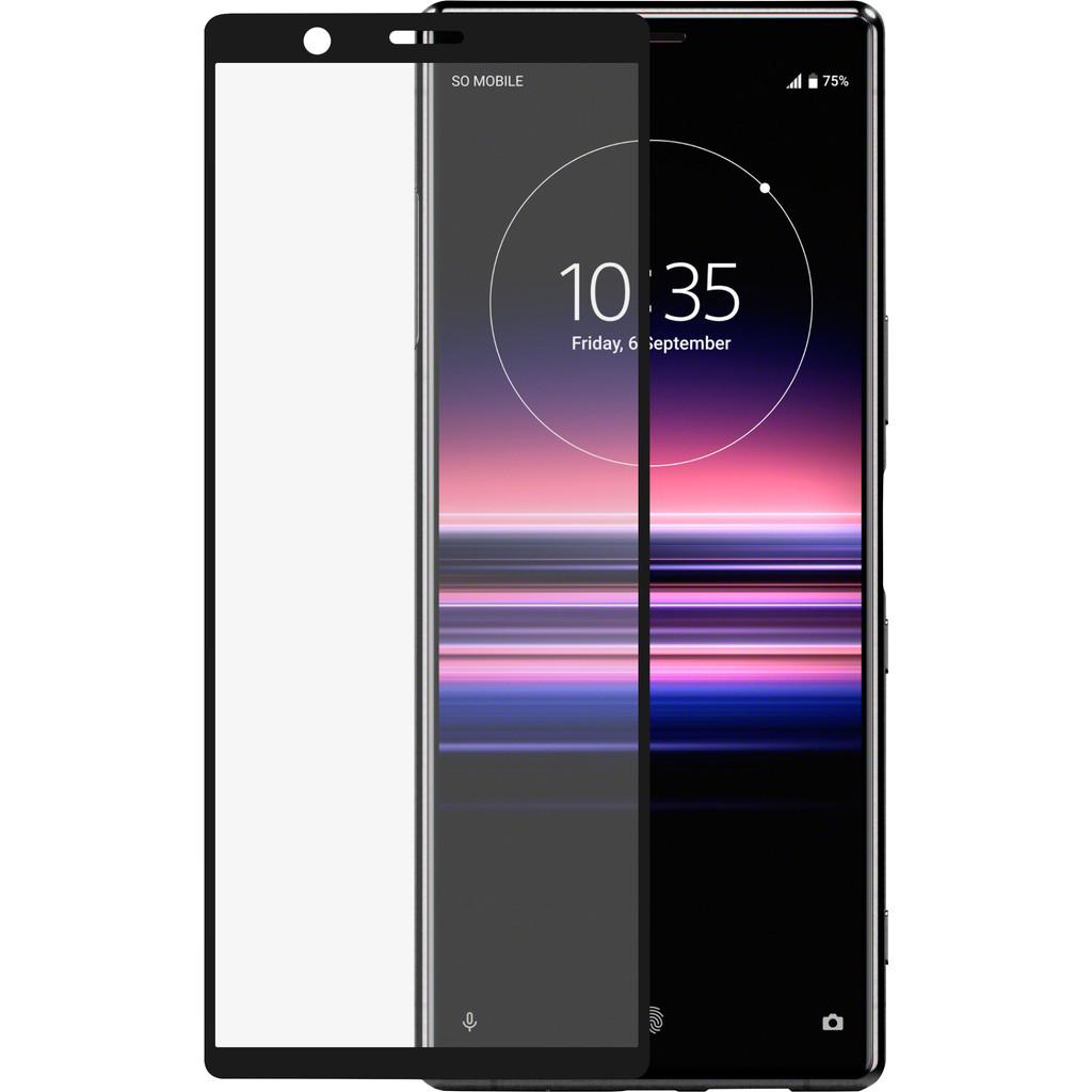 Azuri Rinox Sony Xperia 5 Screenprotector Glas Zwart
