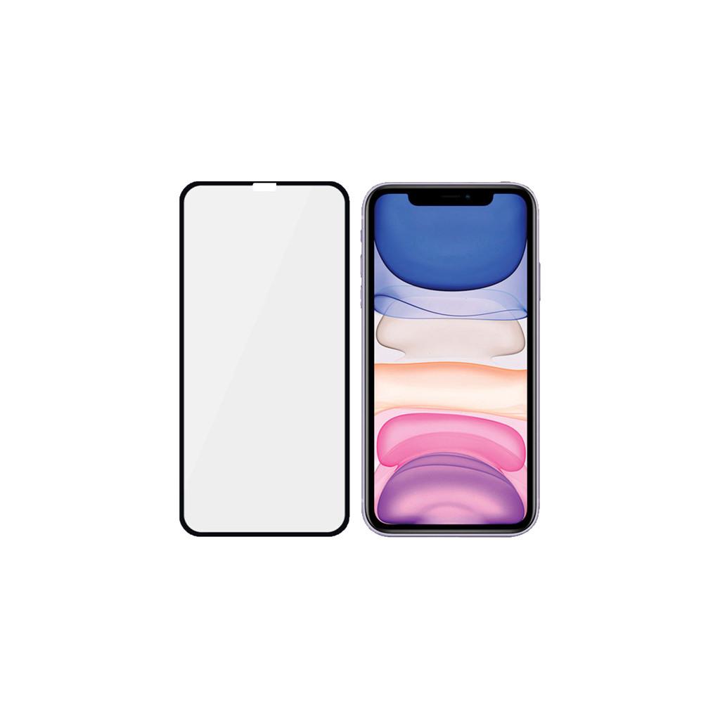 PanzerGlass Case Friendly iPhone Xr/11 Screenprotector Glas Zwart