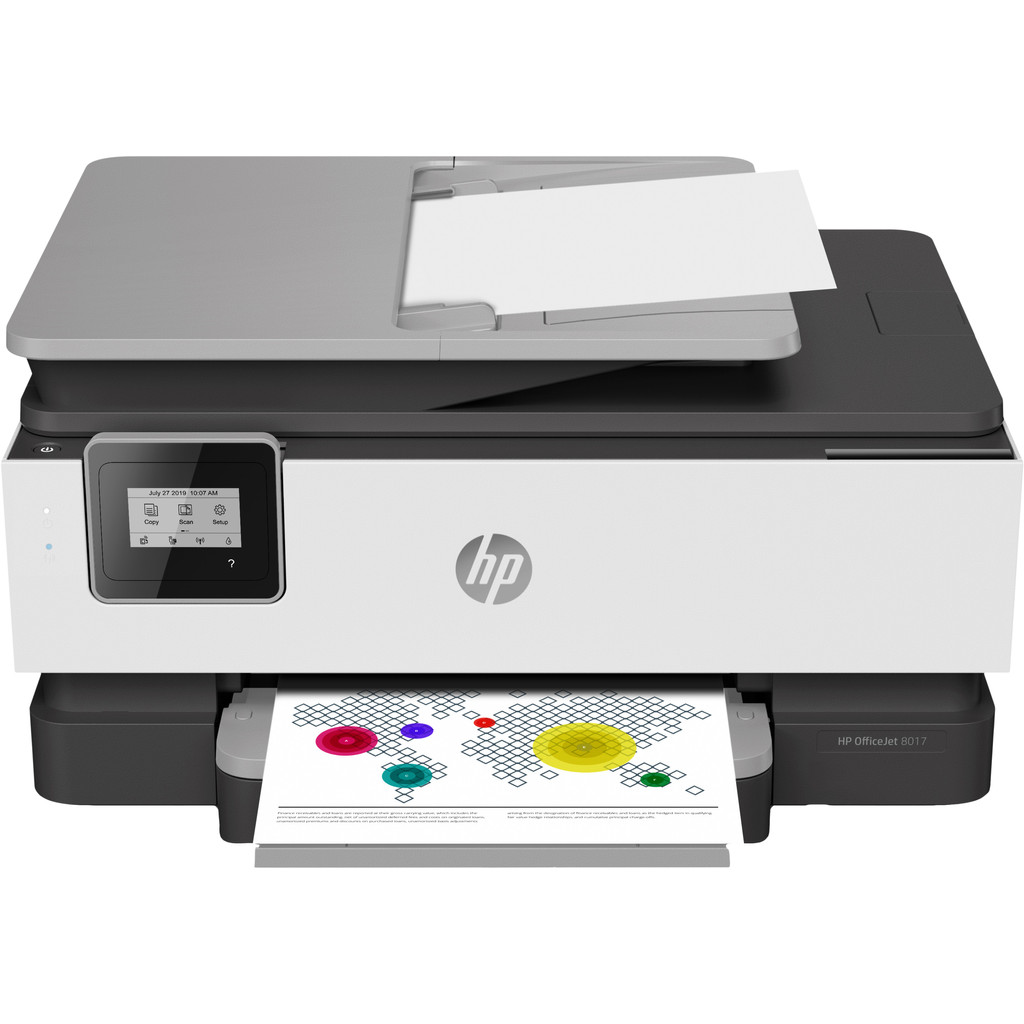 HP OfficeJet 8017 All-in-one + HP instant Ink tegoed