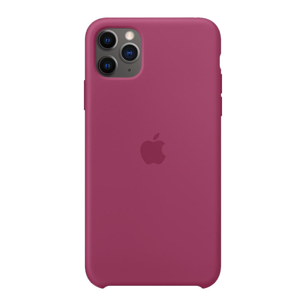 Apple iPhone 11 Pro Max Silicone Back Cover Granaatappel