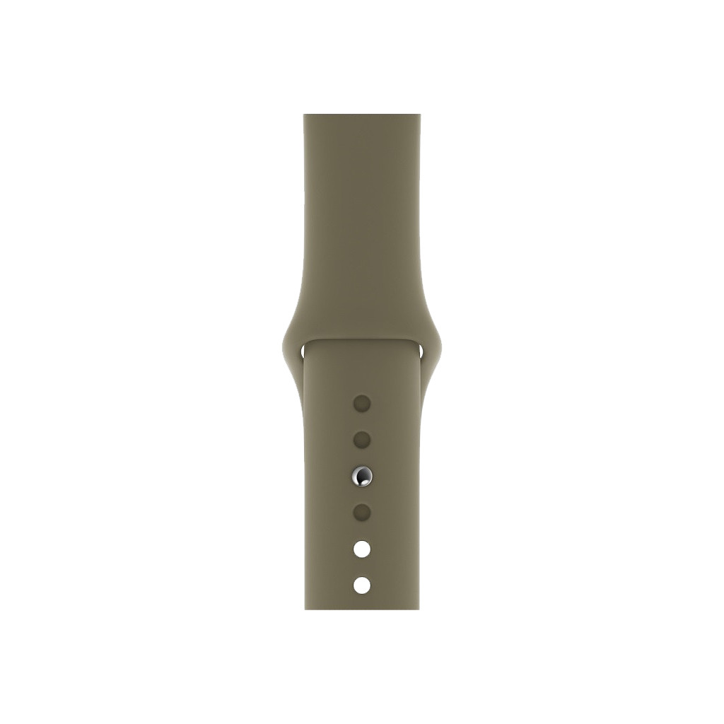 Apple Watch 40mm Siliconen Horlogeband Sport Khaki