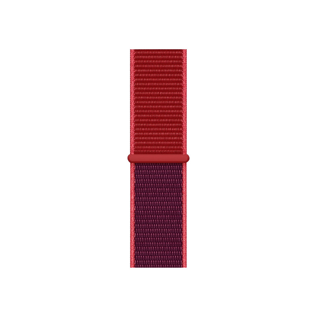 Apple Watch 40mm Nylon Horlogeband Sport Loop RED