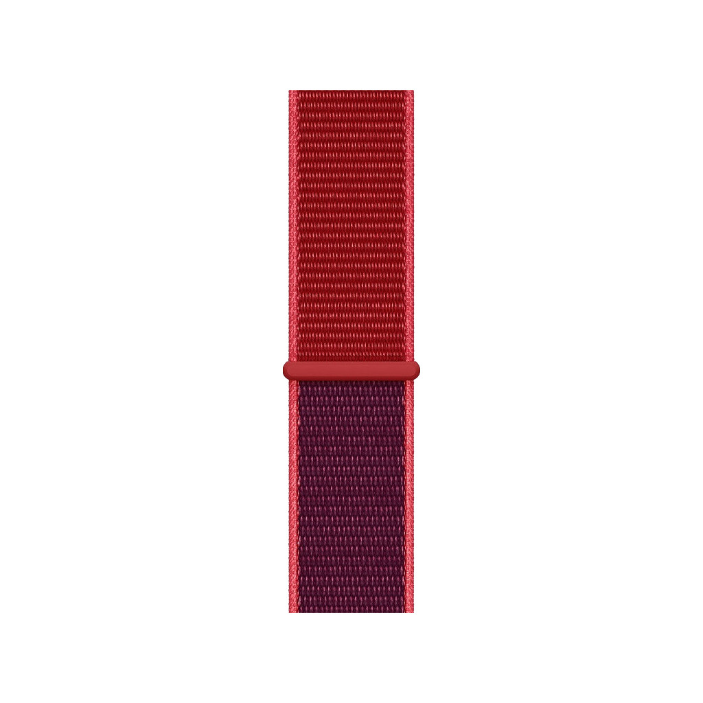 Apple Watch 44mm Nylon Horlogeband Sport Loop RED