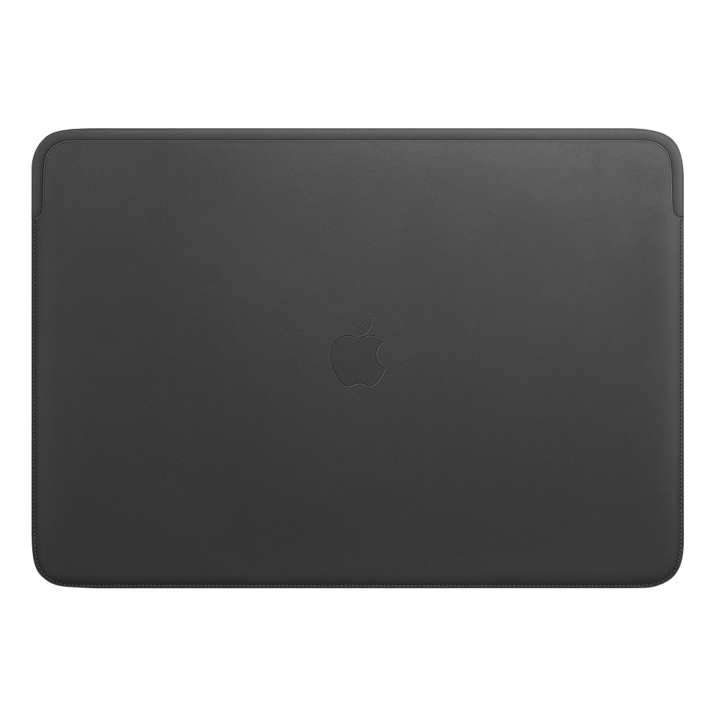 Apple MacBook Pro 16'' Leather Sleeve Zwart