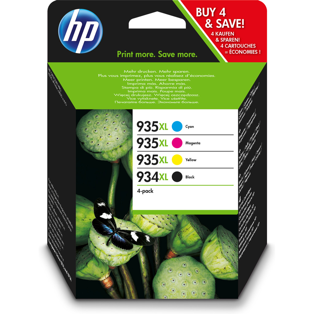 HP 934/935XL Combo-pack (X4E14AE)