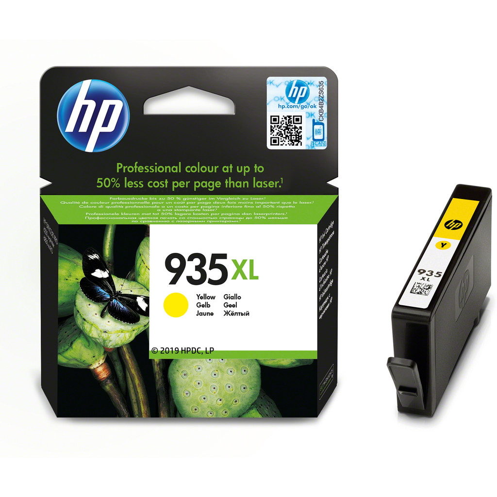 HP 935XL Cartridge Geel (C2P26AE)