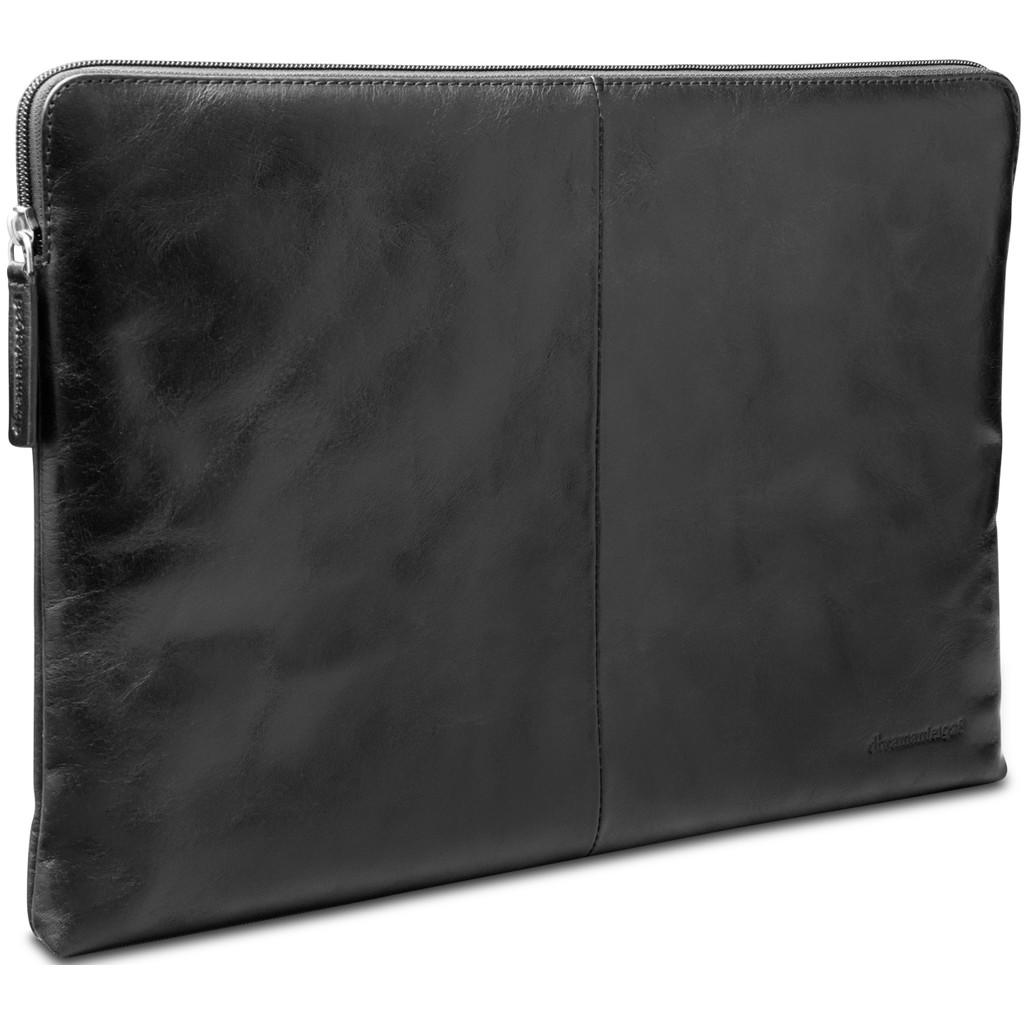 dbramante1928 Skagen 15 inch MacBook Sleeve Leer Zwart / Breedte laptop 34 cm - 35.8 cm