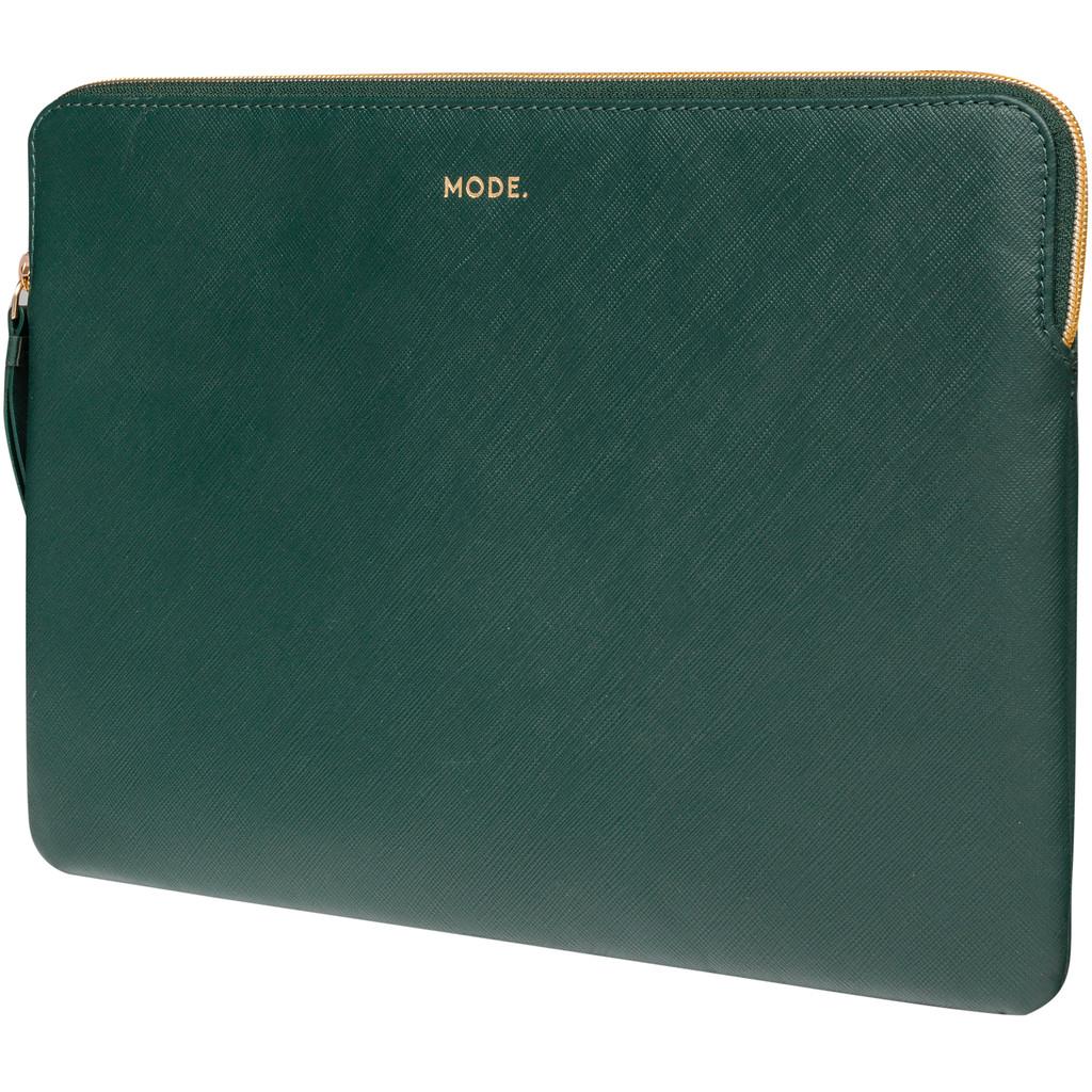 dbramante1928 Paris 13 inch MacBook Sleeve Leer Groen / Breedte laptop 29 cm - 30,5 cm