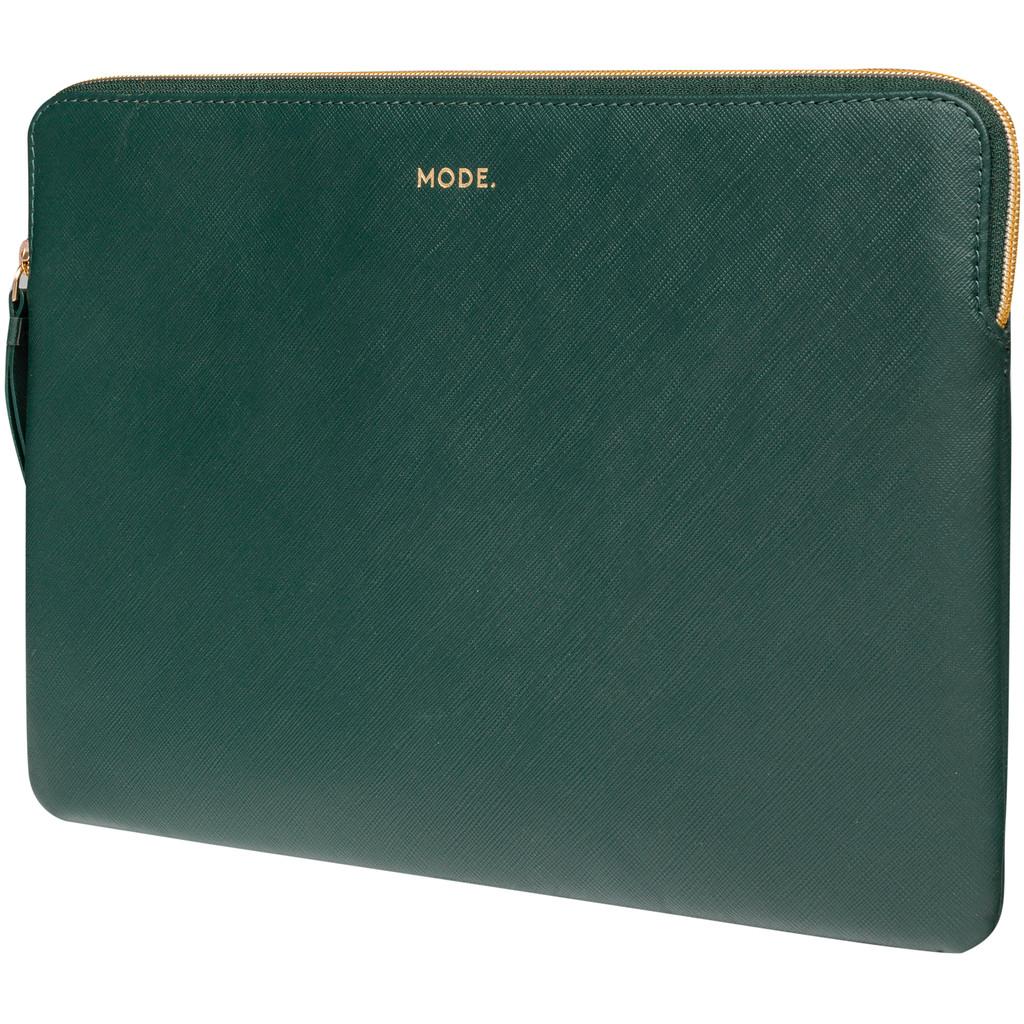 dbramante1928 Paris 14 inch Sleeve Leer Groen / Breedte laptop 32,8 cm - 34,3 cm