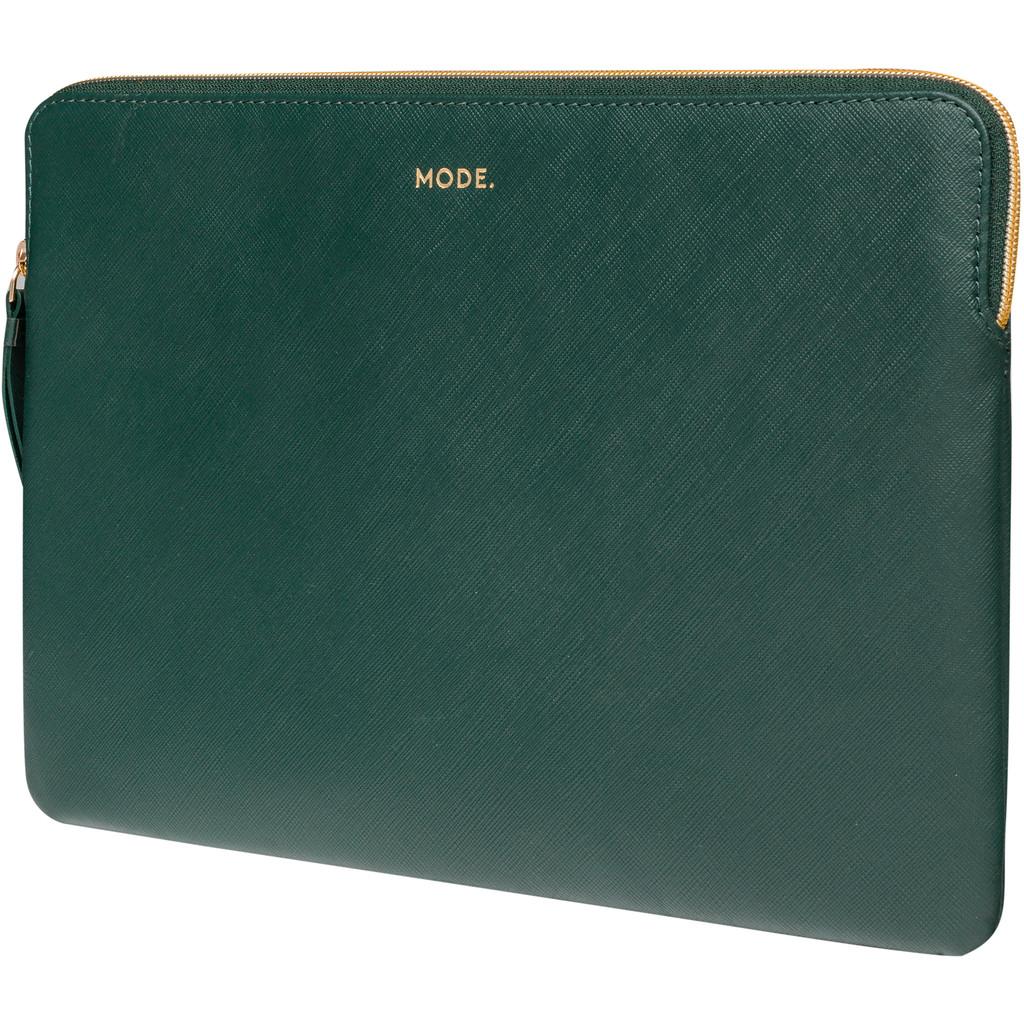 dbramante1928 Paris 15 inch Sleeve Leer Groen / Breedte laptop 34,3 cm - 35,8 cm