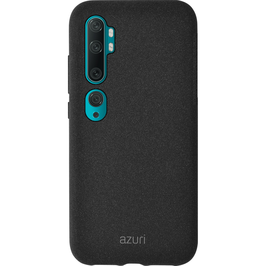 Azuri Flexible Sand Xiaomi Mi Note 10 Back Cover Zwart