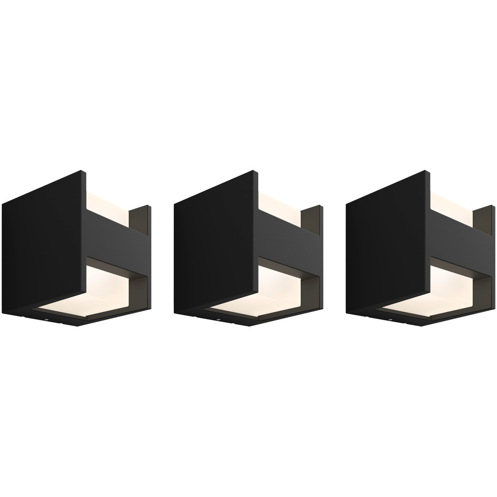 Philips Hue Fuzo Wandlamp Up/Down Buiten 3-Pack