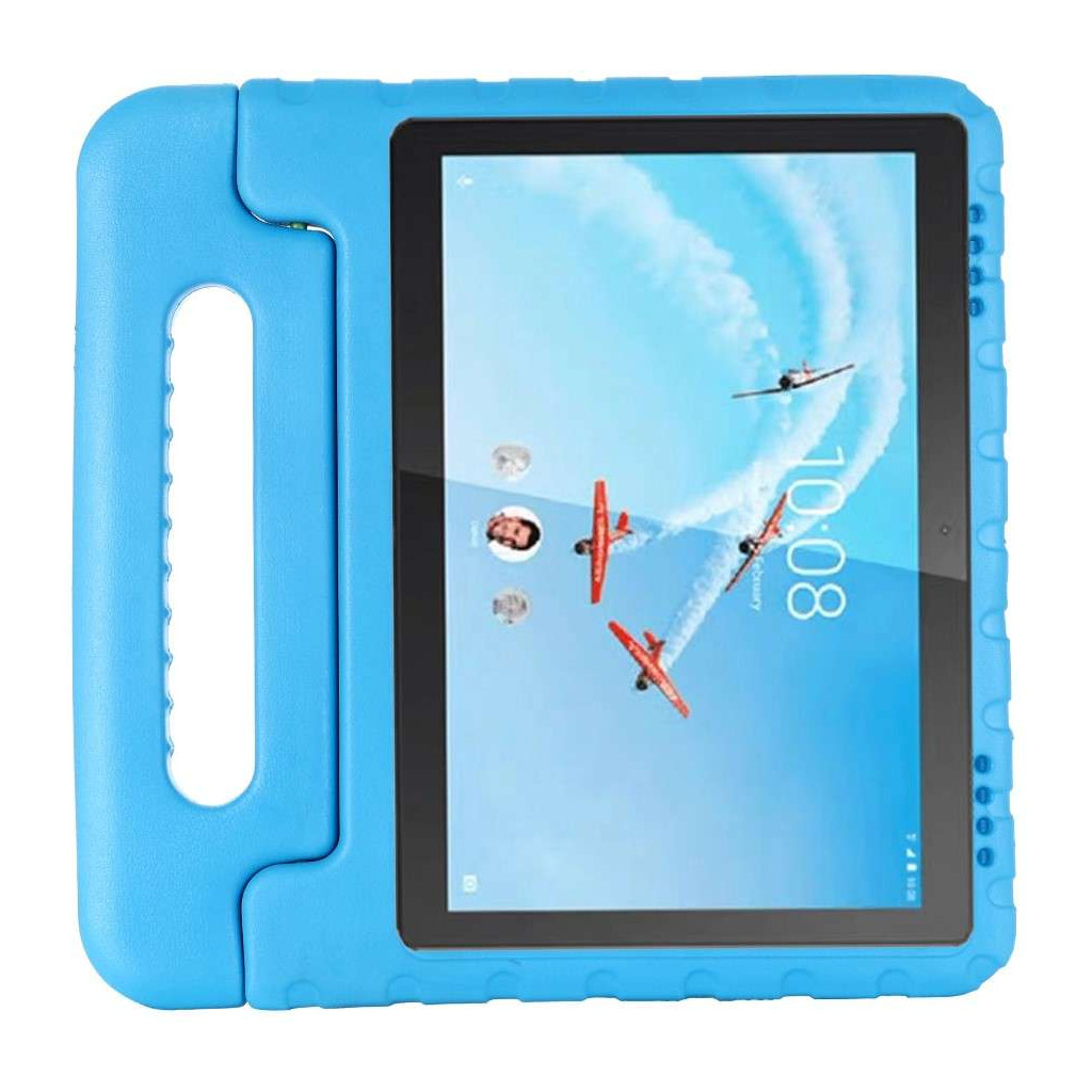 Just in Case Kids Case Classic Lenovo Tab E10 Back Cover Blauw