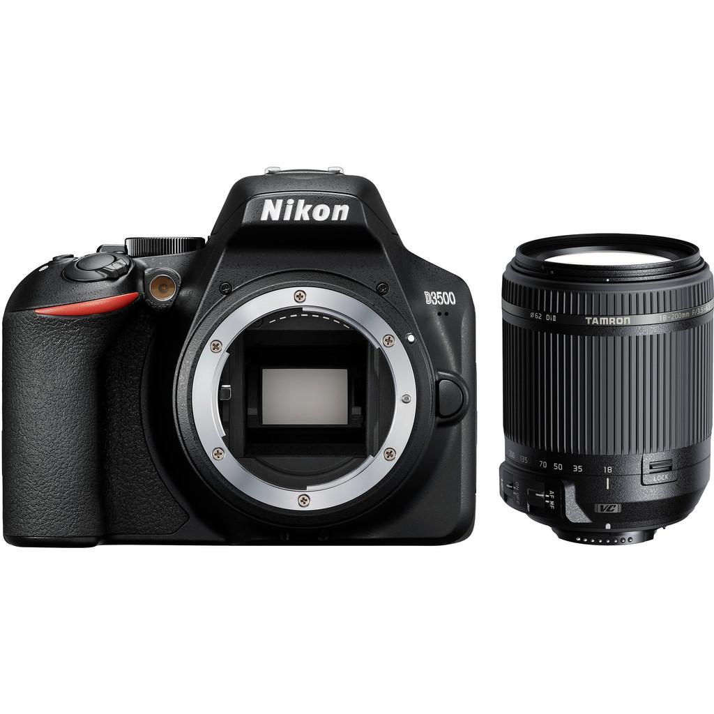 Nikon D3500 + Tamron 18-200mm f/3.5-6.3 Di II VC