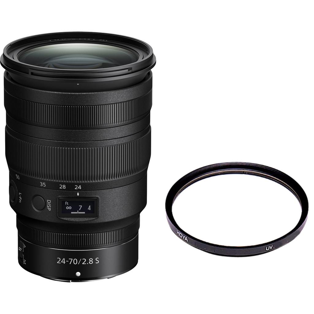 Nikon NIKKOR Z 24-70mm f/2.8 S + Hoya HDX UV 82mm