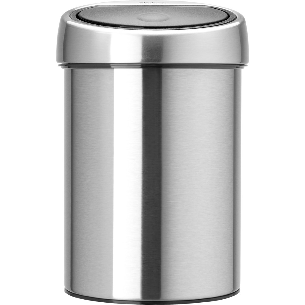 Brabantia Touch Bin 3 Liter Matt Steel Fingerprint Proof