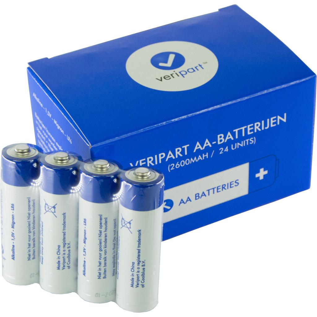 Veripart Alkaline AA-batterijen 24 stuks
