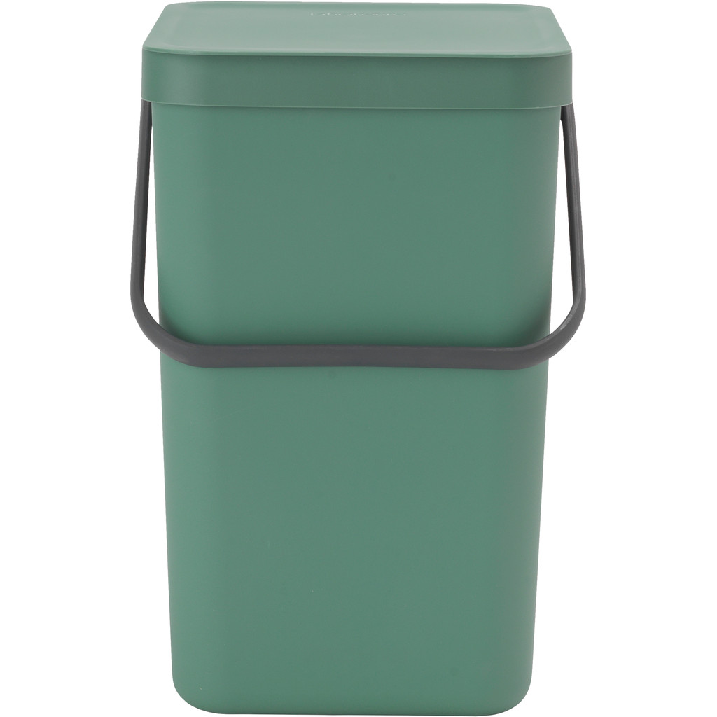 Brabantia Sort & Go afvalemmer 25 liter - Fir Green