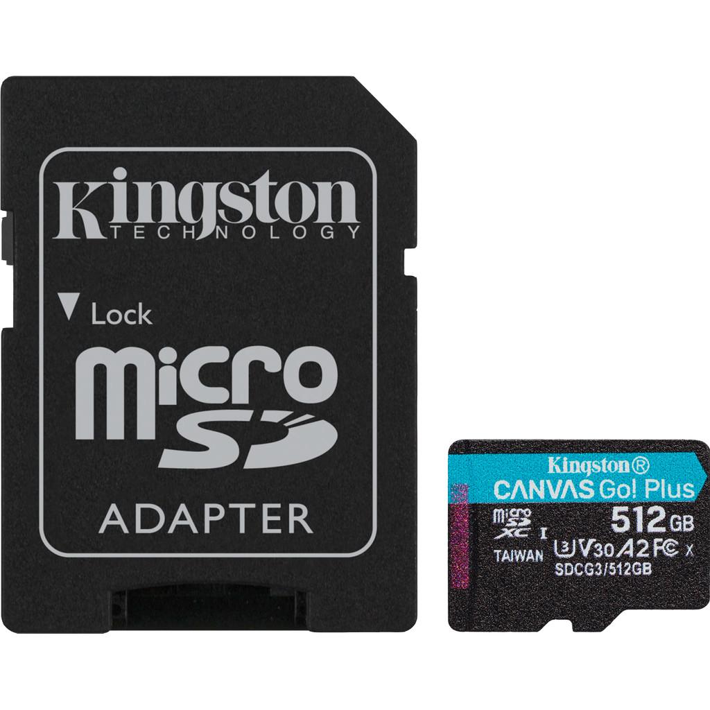 Kingston microSDXC Canvas Go Plus 512GB