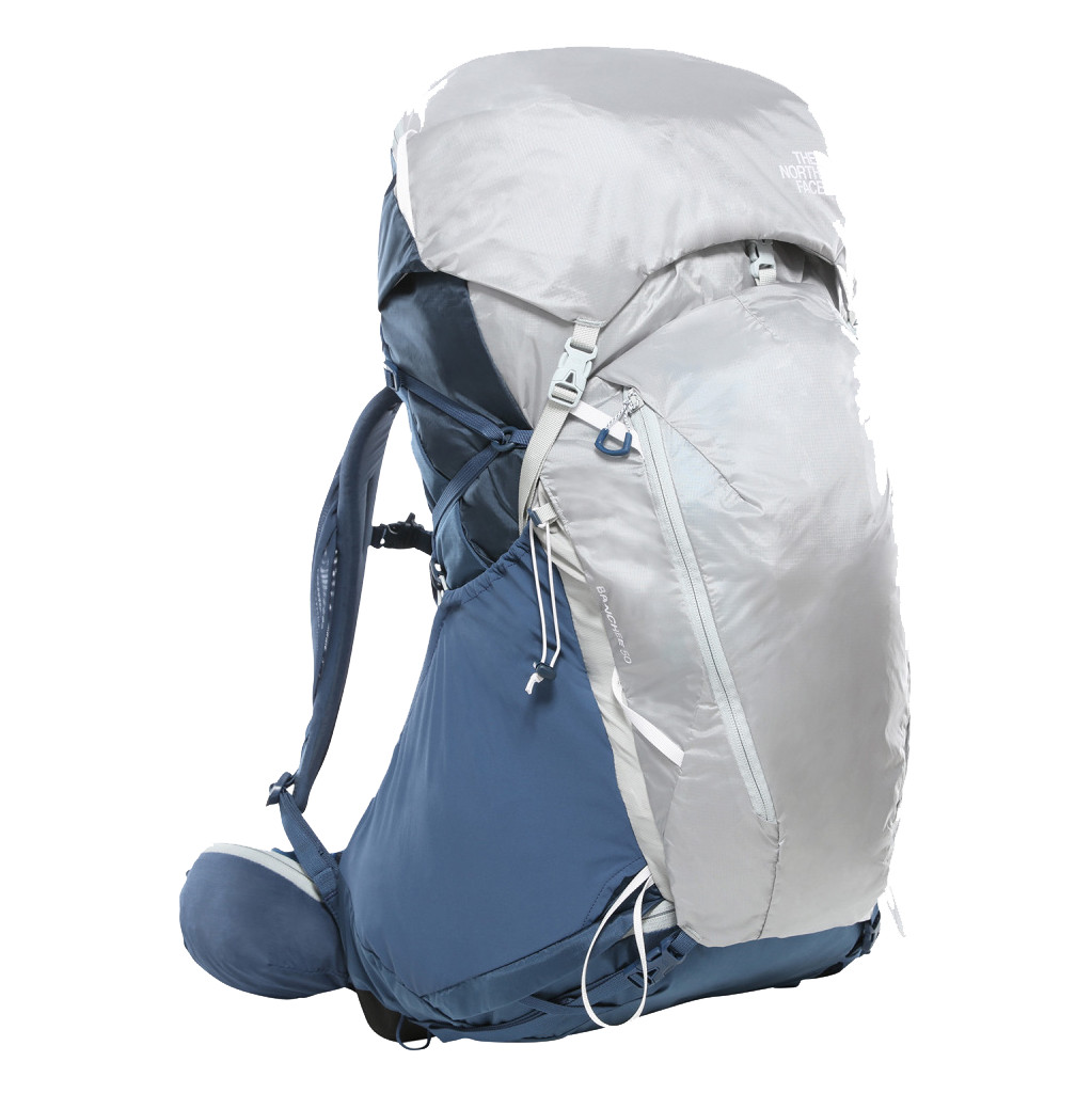 The North Face Womens Banchee 50L Shady Blue/High Rise Grey M/L