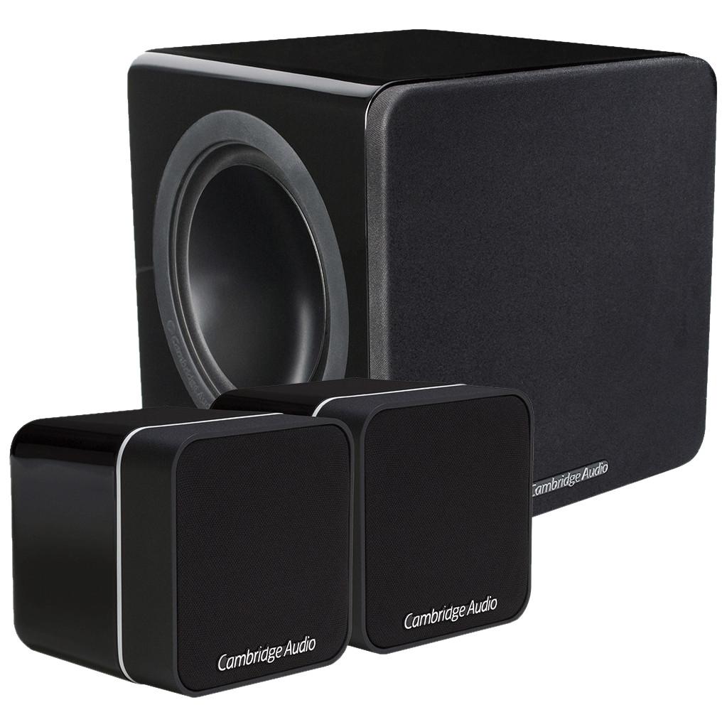 Cambridge Audio Minx 2.1 Set Zwart