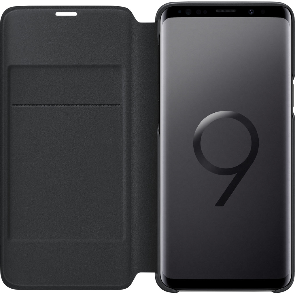 Samsung Galaxy S9 LED View Cover Zwart