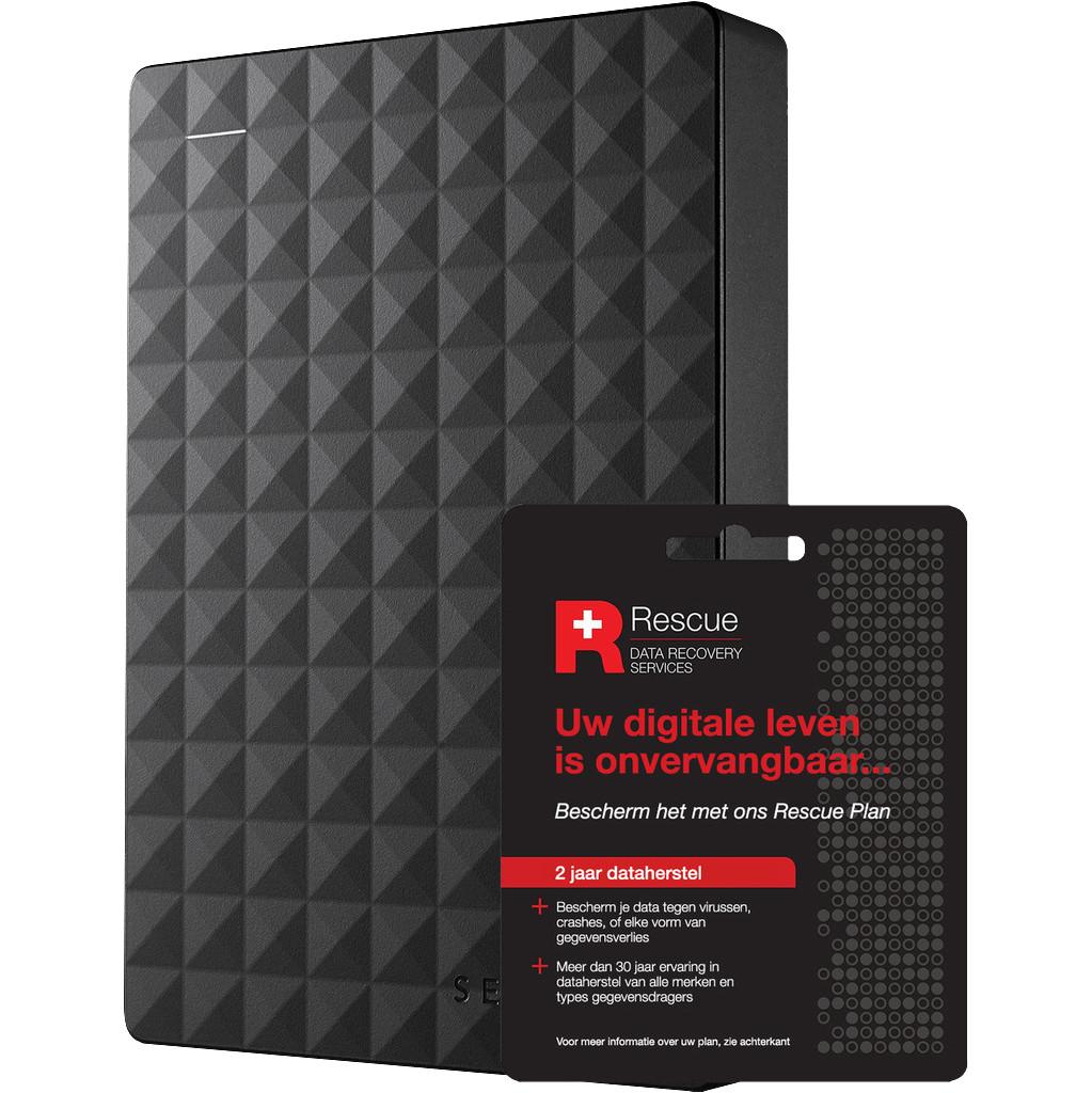Seagate Expansion Portable 4 TB + 2 jaar Data hersteldienst