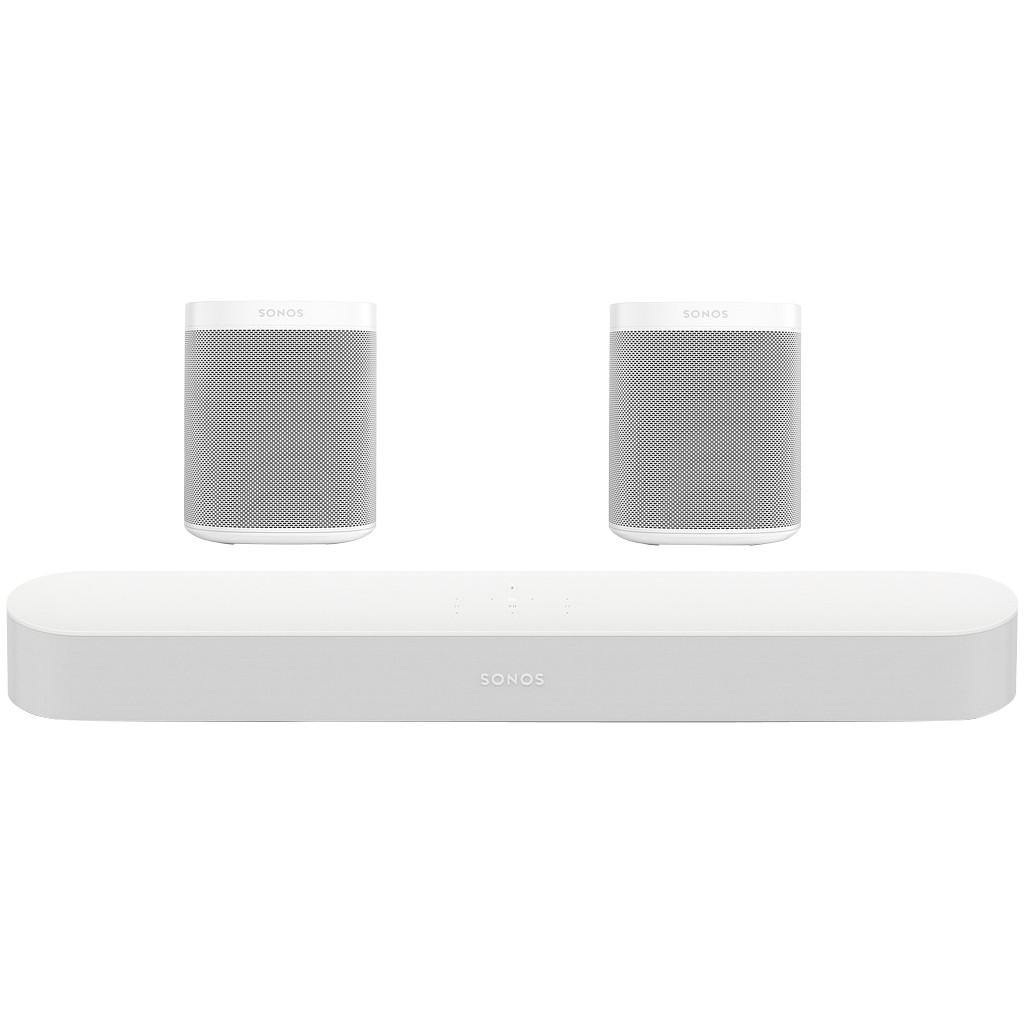 Sonos Beam 5.0 + One (2x) Wit