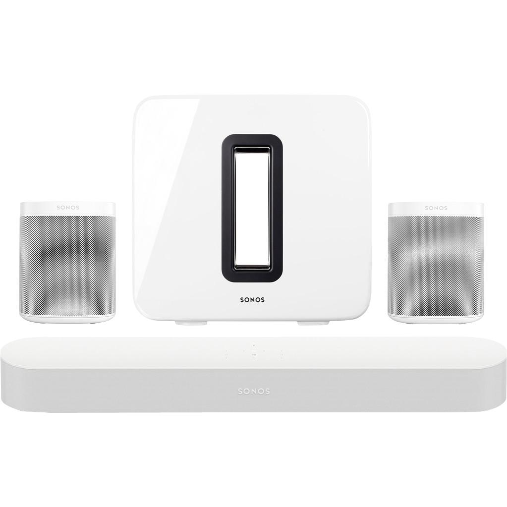 Sonos Beam 5.1 + One (x2) + Sub Wit