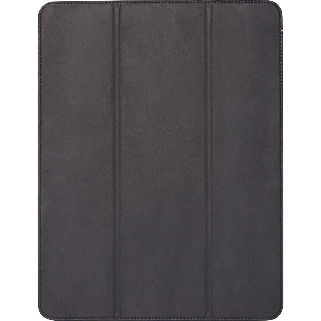 Decoded Leather Slim Cover 12.9'' iPad Pro (2018) Book Case Zwart