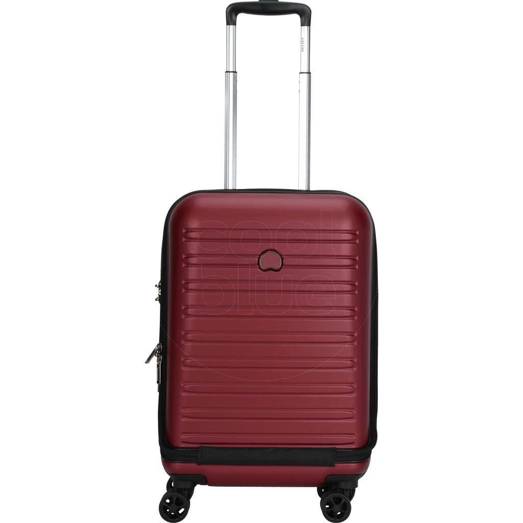 Delsey Segur 2.0 Business Front Pocket Spinner 55cm Red