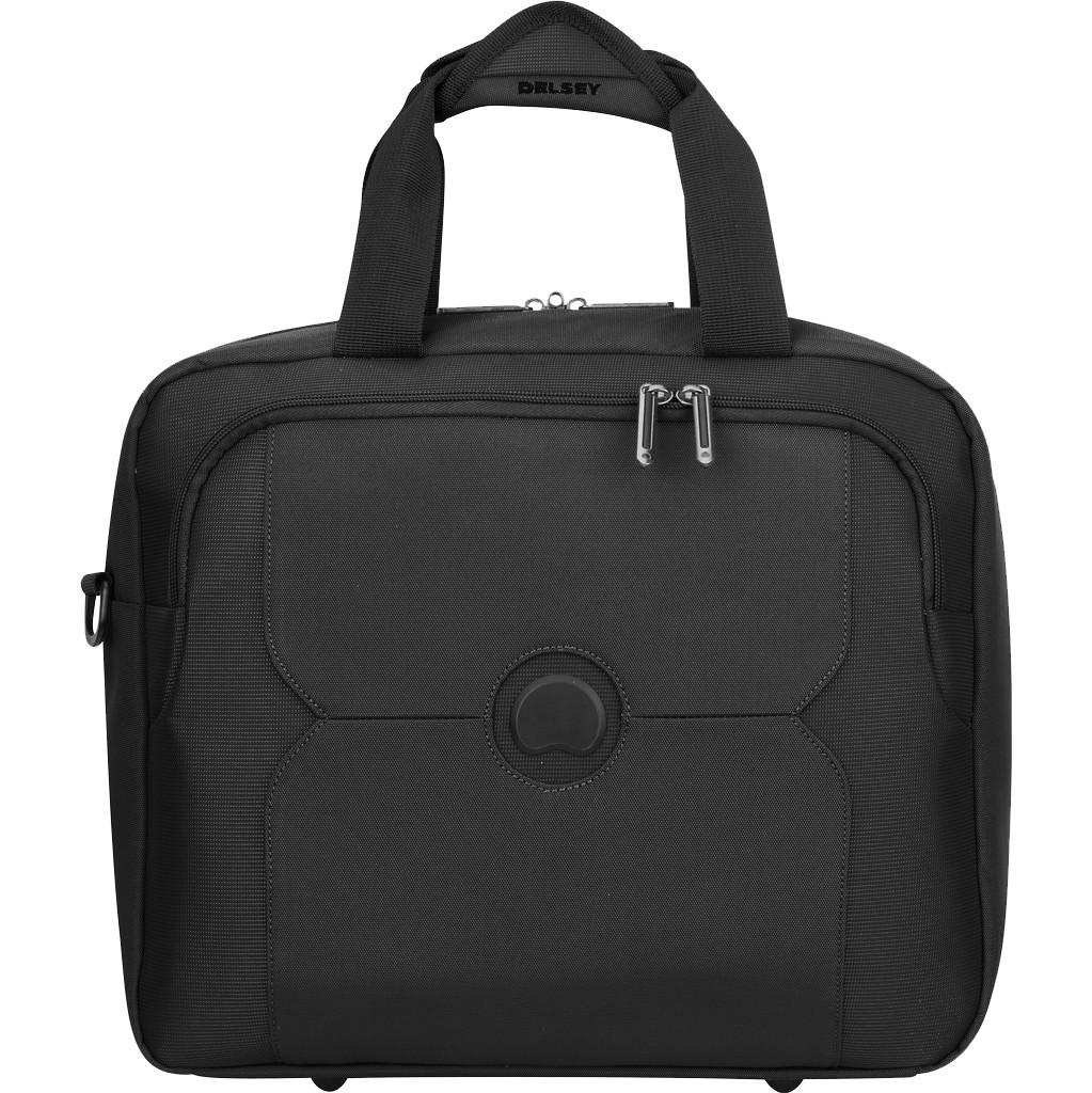 Delsey Mercure Reporter Bag Black