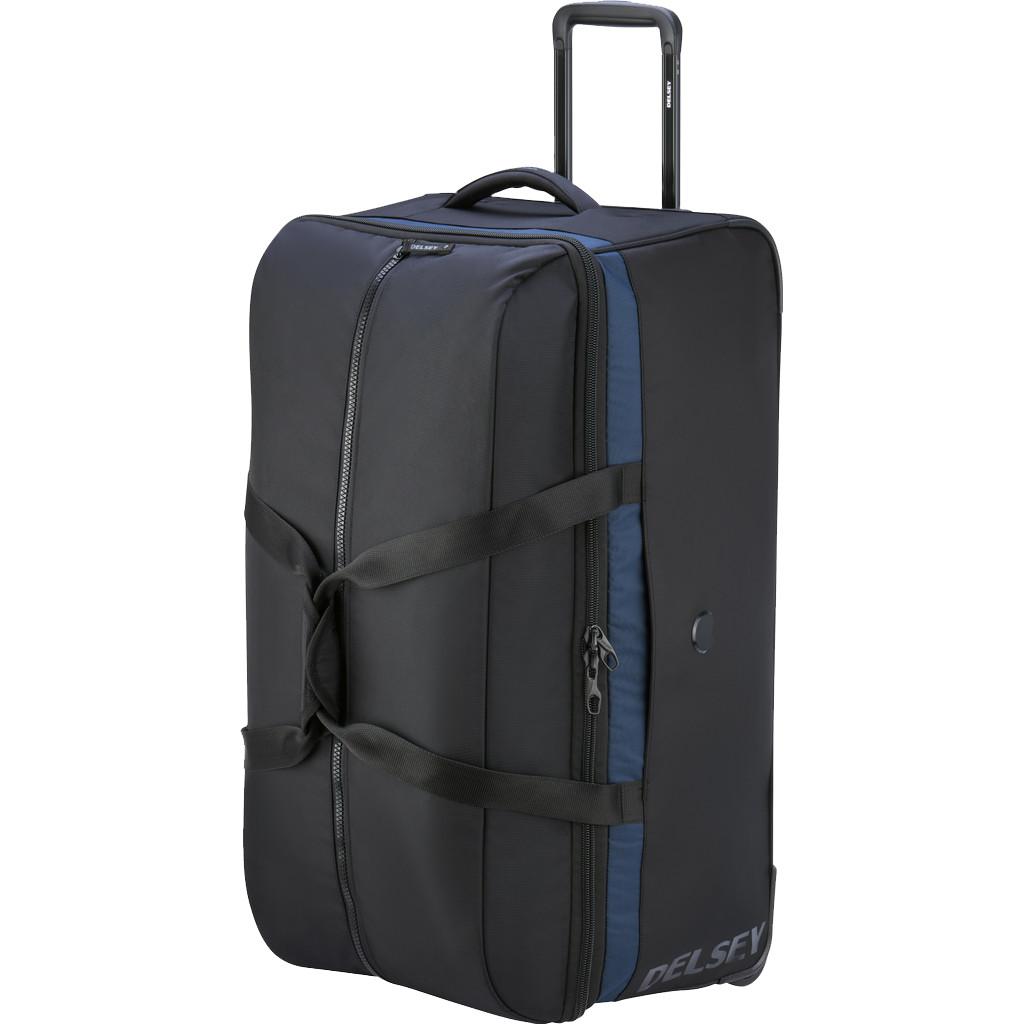 Delsey Egoa Trolley Duffle Bag 75cm Zwart