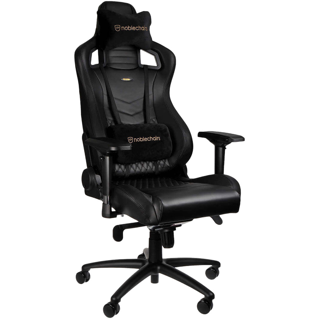 Noblechairs EPIC Gaming Stoel Nappa Leather - black