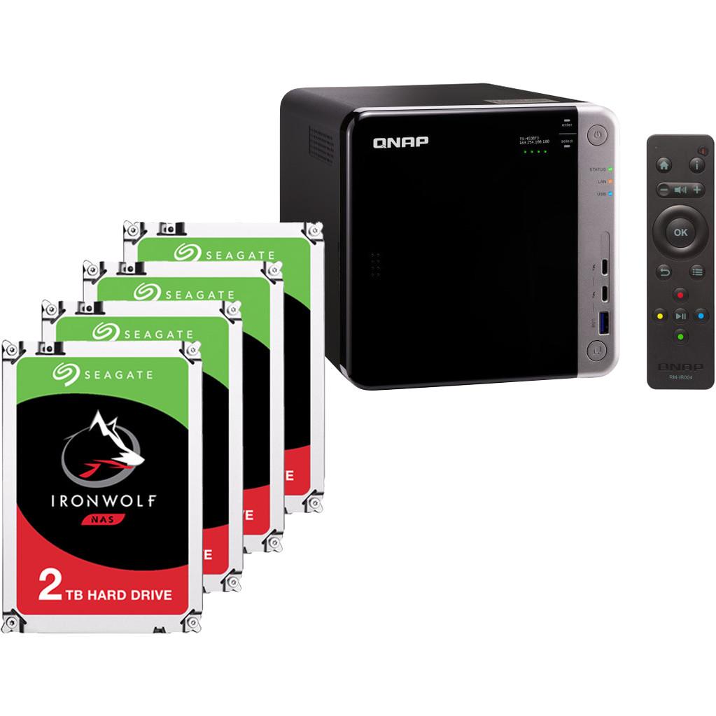 QNAP TS-453BT3-8G + 4x 2TB