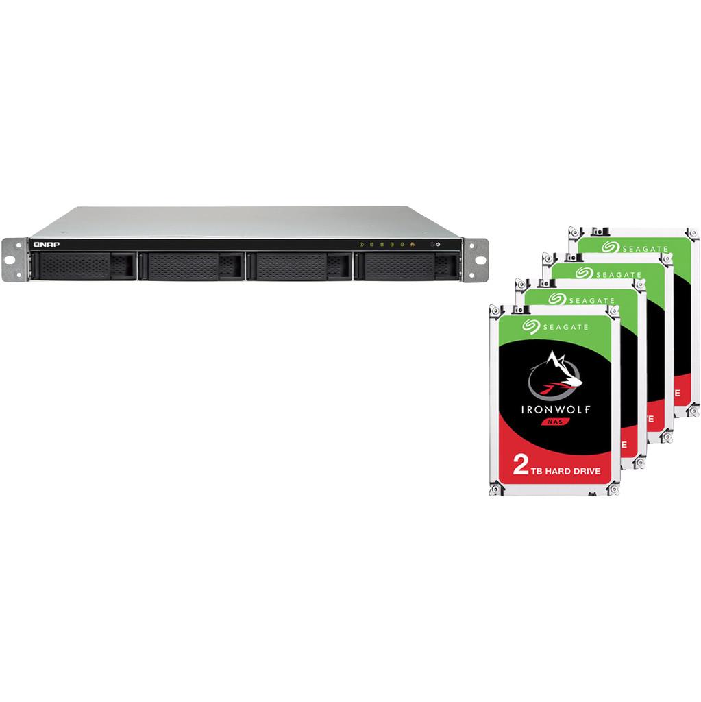 QNAP TS-453BU-RP-4G + 4x 2TB