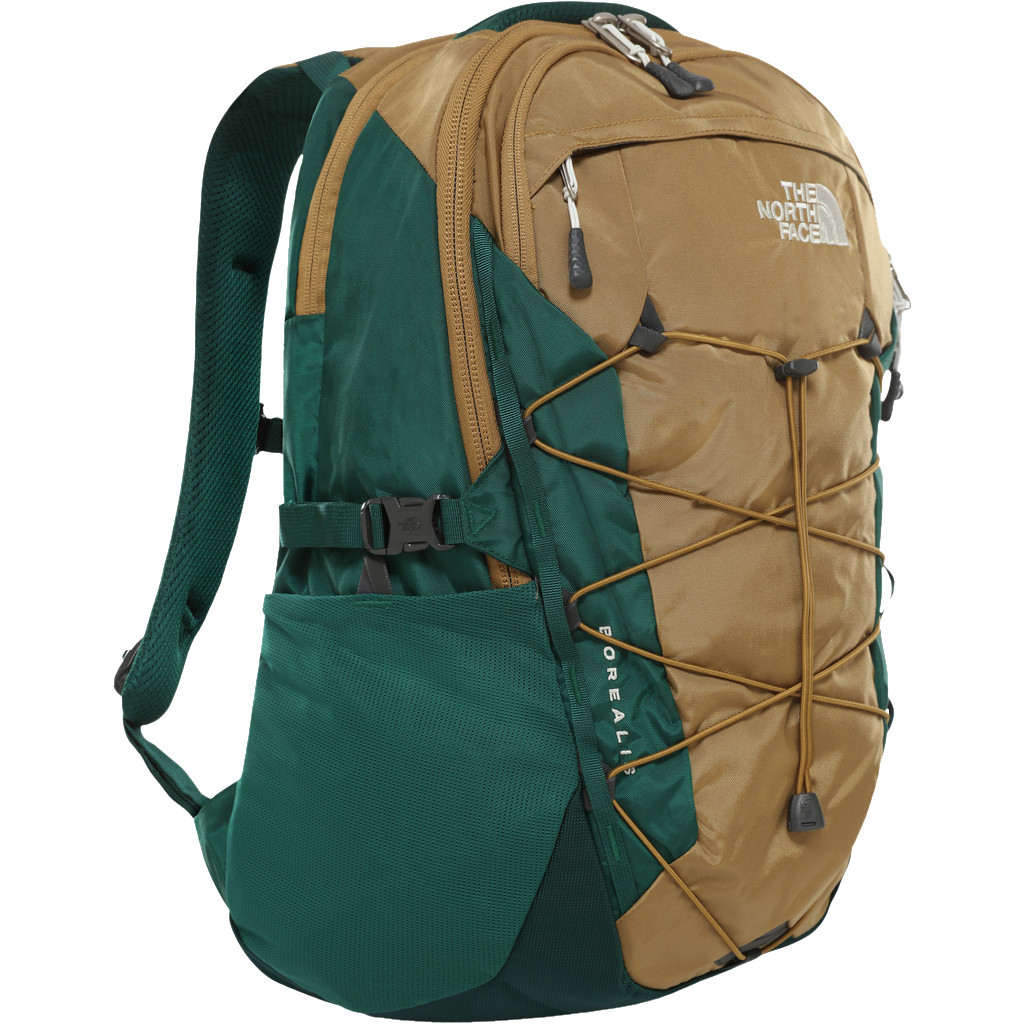 "The North Face Borealis 15"" British Khaki/Night Green 28L"