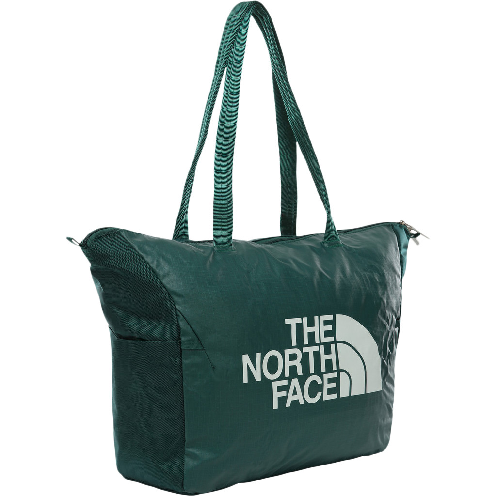 The North Face Stratoliner Tote Loganberry Red/Fissure Green