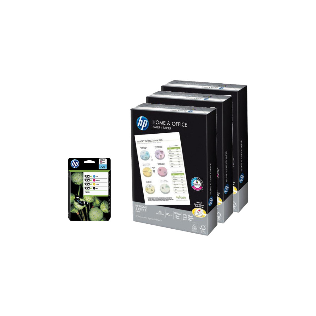 HP 953XL Combo Pack + 1500 vel
