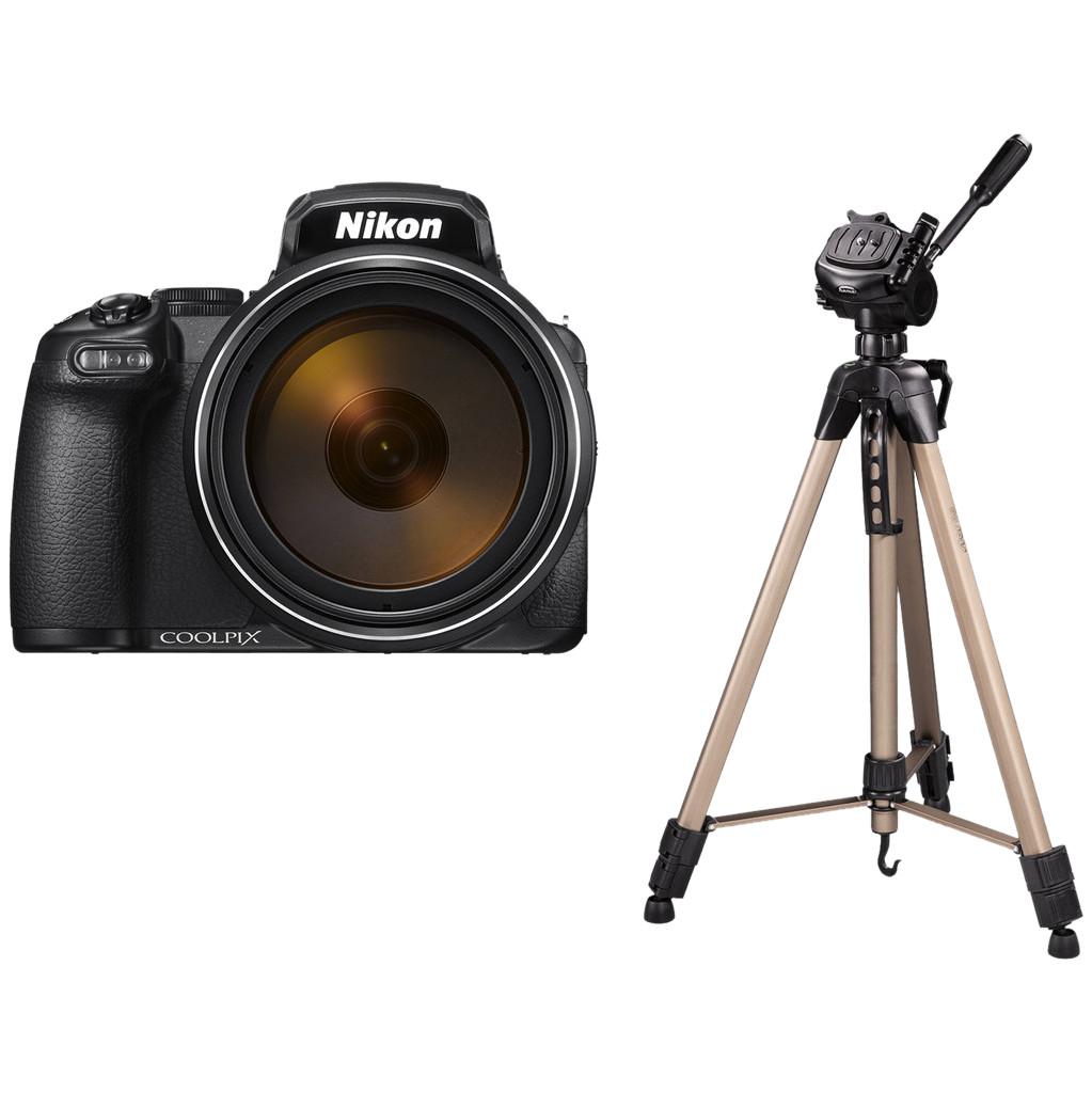 Nikon COOLPIX P1000 + Hama Star 63 Statief