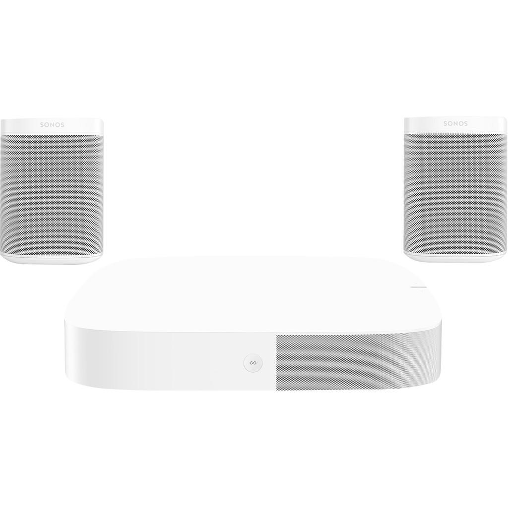 Sonos Playbase 5.0 + One (x2) Wit