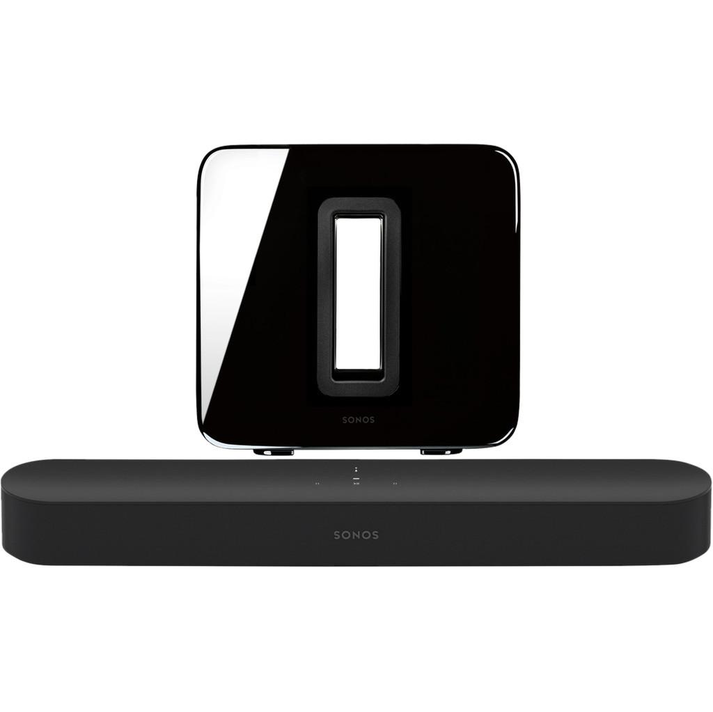 Sonos Beam 3.1 + Sub Zwart