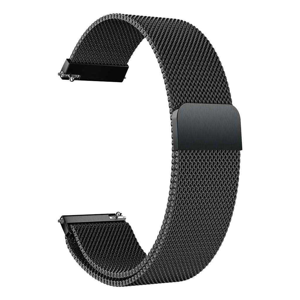 Just in Case Samsung Galaxy Watch Active Mesh Bandje Zwart