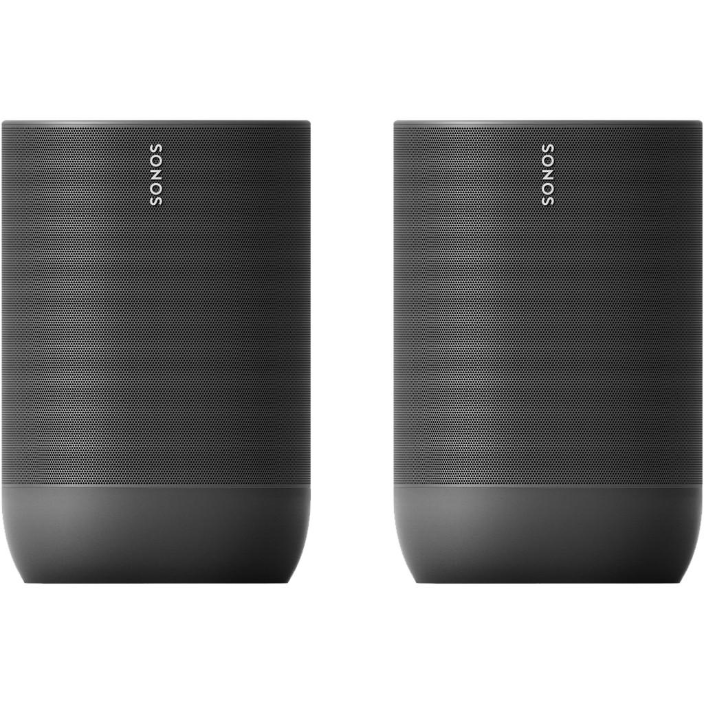 Sonos Move Duo Pack Zwart