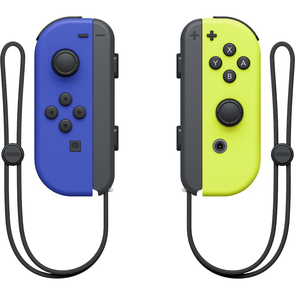 Nintendo Switch Joy-Con set Blauw/Neon Geel