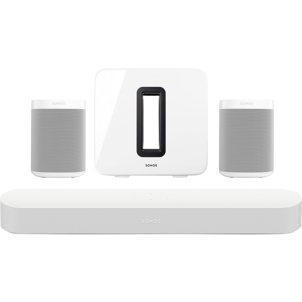 Sonos Beam 5.1  + One SL (2x) + Sub Wit